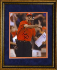Gus Malzahn Autographed Framed Photo