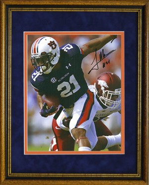 Tre Mason Autographed Photo Framed