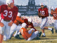 iron bowl gold 1953 starr