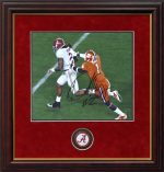 henry clemson shred framed coin